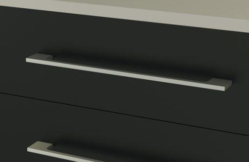 TIRADORES EN INOX - color plateado