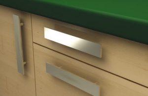 tiradores modernos para muebles - diseño plano-